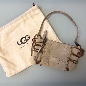 UGG sheepskin mini purse
